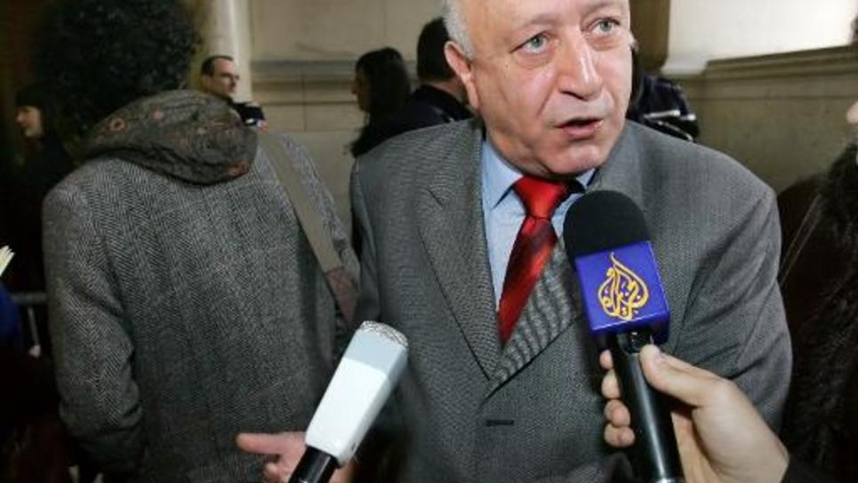 Abdallah Zekri, président de l'Observatoire national contre l'islamophobie au tribunal de Paris le 7 février 2007