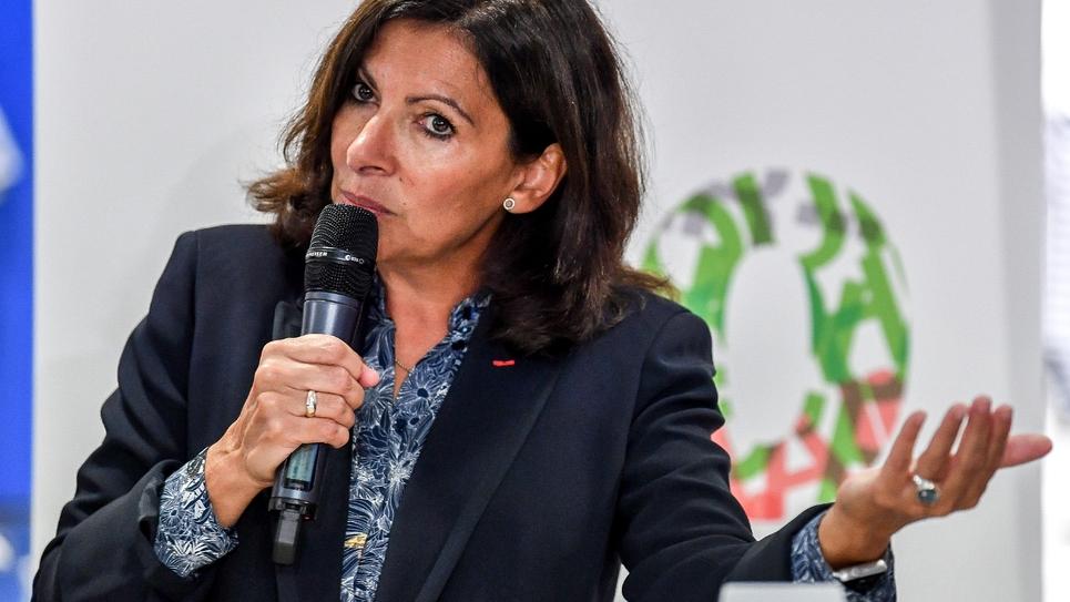 Anne Hidalgo à Dunkerque, le 30 octobre 2018