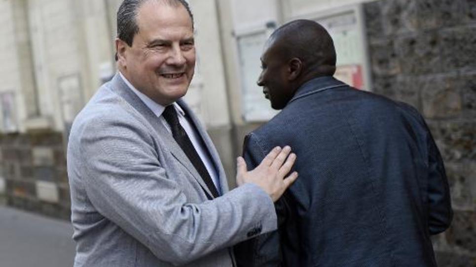 Le Premier secrétaire du PS Jean-Christophe Cambadelis à Paris, le 21 mai 2015