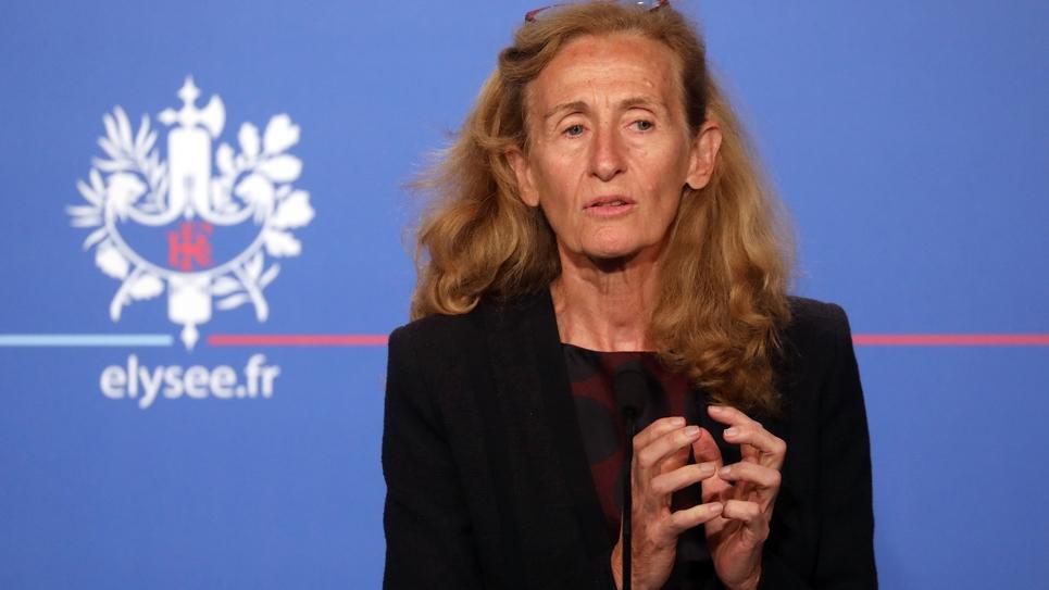 La ministre de la Justice Nicole Belloubet, le 12 septembre 2018 à Paris