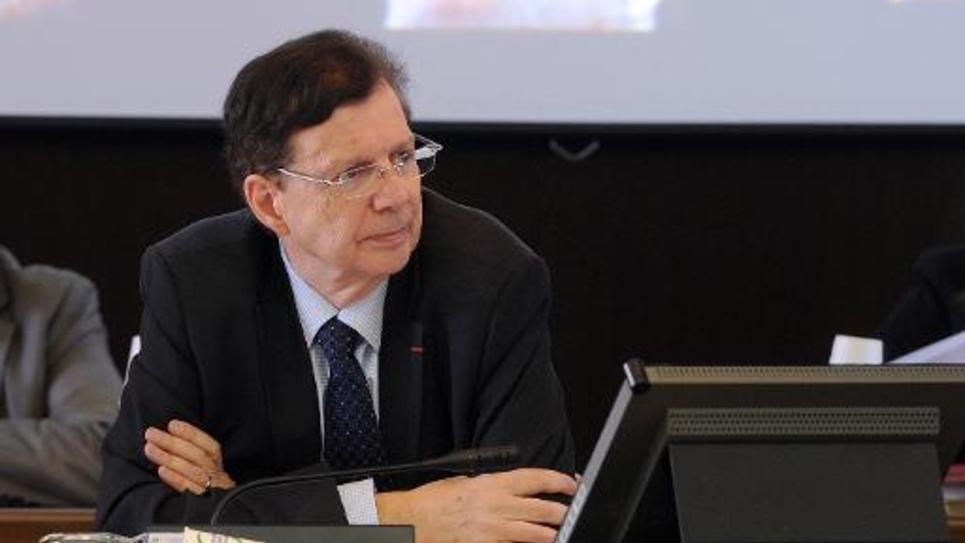 Le sénateur et président du conseil général du Tarn, Thierry Carcenac (PS) à Albi, le 31 octobre 2014