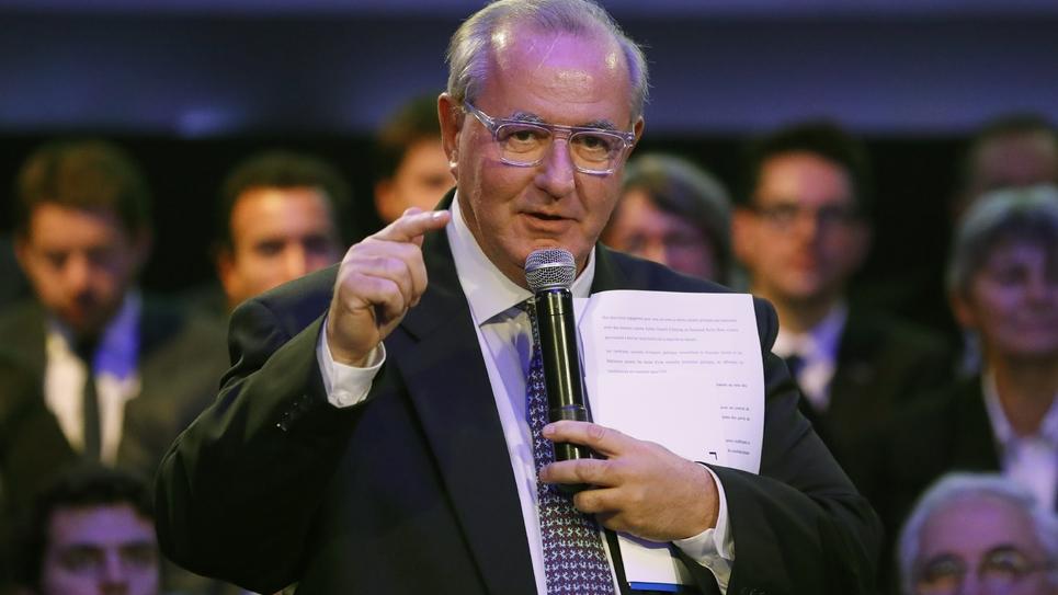 Le député UDI Maurice Leroy le 11 décembre 2016 à Paris