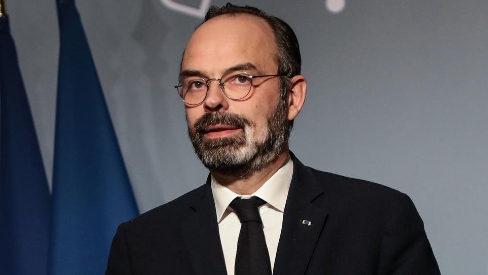 Edouard Philippe le 18 mars 2020 à Paris