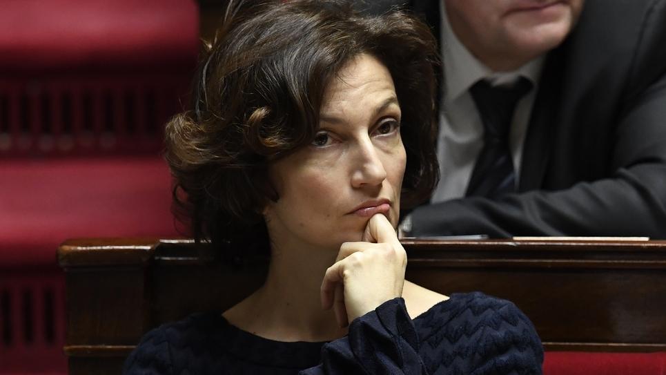 La ministre de la Culture Audrey Azoulay à l'Assemblée nationale le 20 décembre 2016