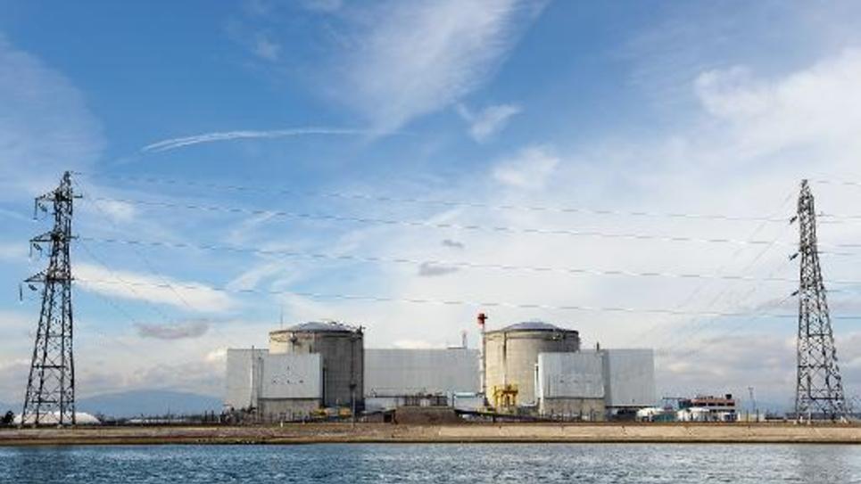 La centrale nucléaire de Fessenheim, le 14 mars 2011