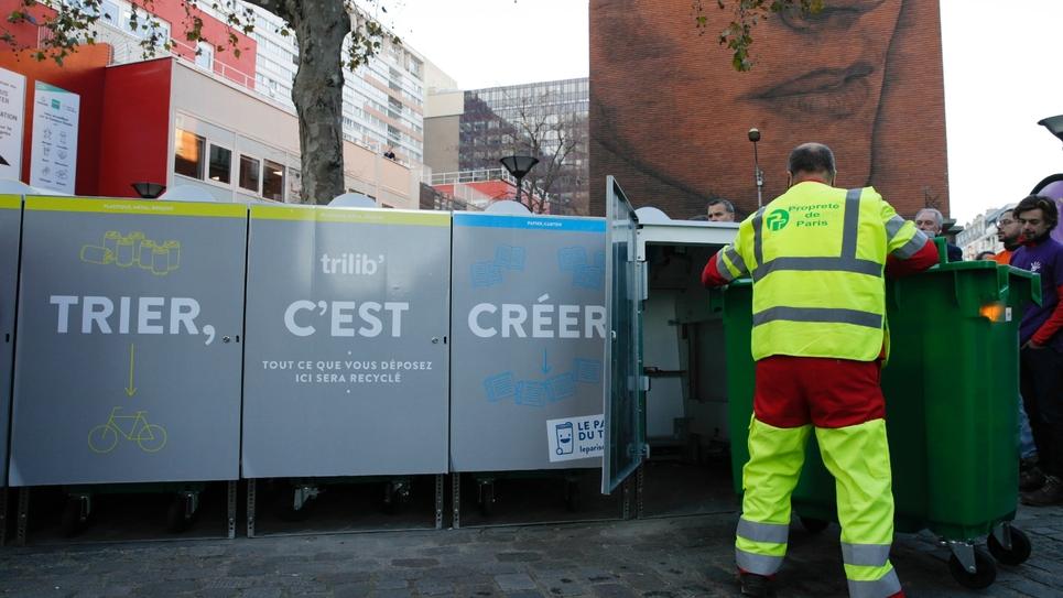 Seulement 26% des déchets sont recyclés en Ile-de-France alors que la moyenne nationale est de 39%, l'Allemagne affichant 64% et la moyenne européenne 44%
