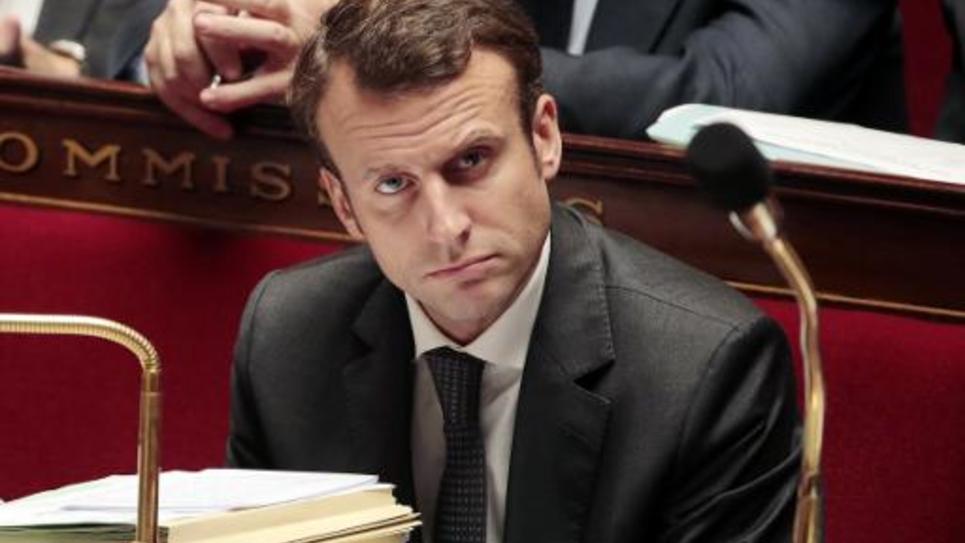 Le ministre de l'Economie, Emmanuel Macron, à l'Assemblée nationale le 19 novembre 2014