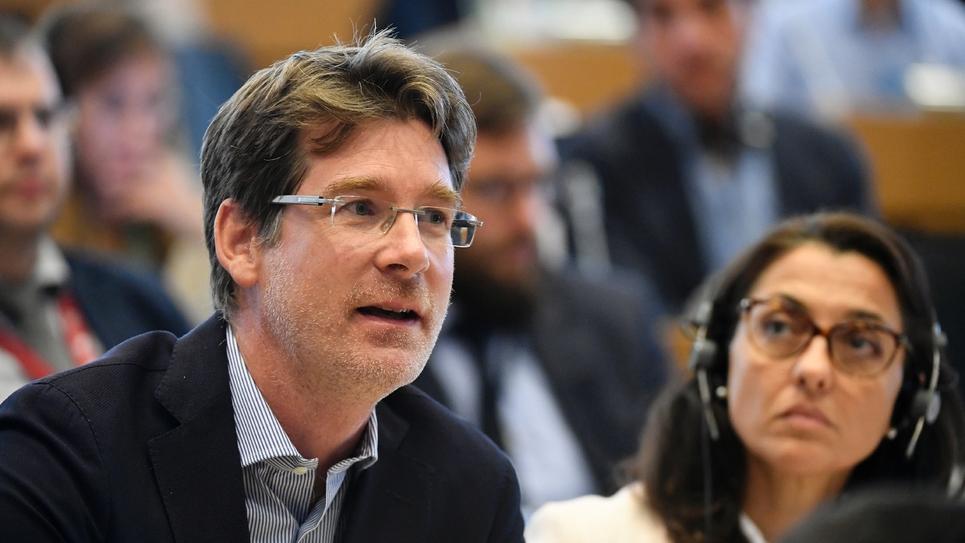 L'eurodéputé Pascal Canfin (G), le 4 septembre 2019 à Bruxelles