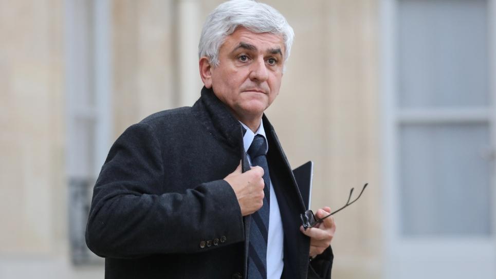 Hervé Morin reçu le 10 décembre 2018 à l'Elysée