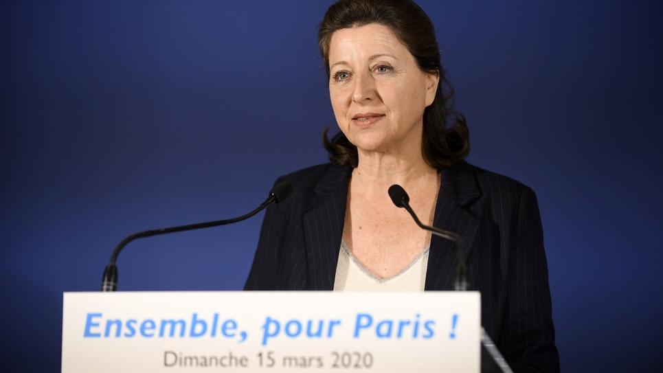 Agnès Buzyn le 15 mars 2020 à Paris