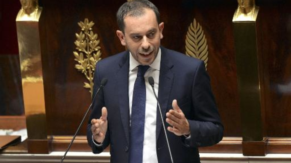 Le député socialiste Carlos Da Silva le 16 juillet 2014 à l'Assemblée à Paris