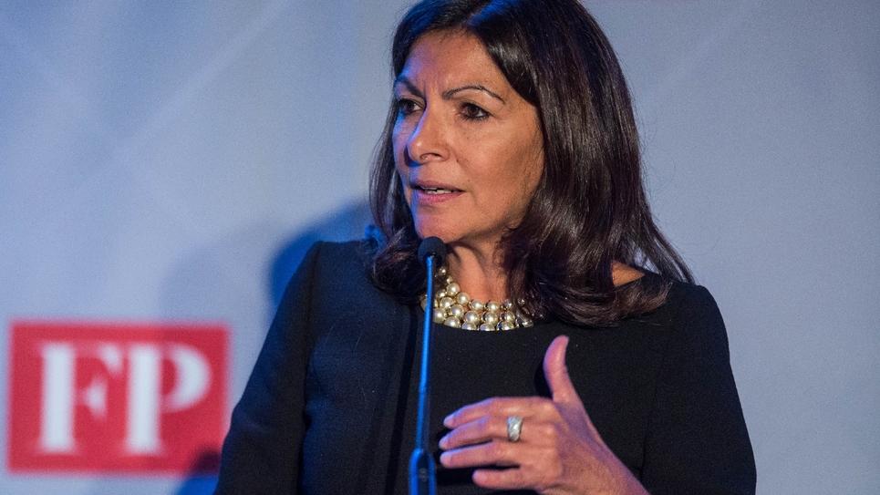 La maire socialiste de Paris Anne Hidalgo à Washington le 17 novembre 2016
