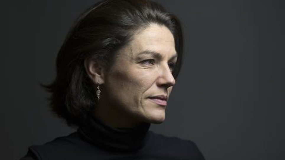 La sénatrice UDI Chantal Jouanno, ancienne secrétaire d'Etat à l'Ecologie, le 7 janvier 2014 à Paris