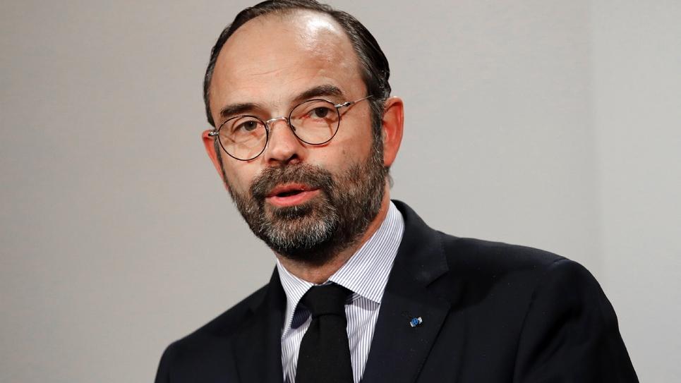 Le Premier ministre Edouard Philippe à Paris le 9 janvier 2019