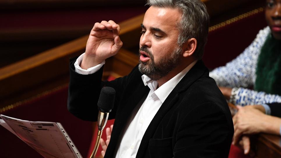 Alexis Corbière à l'Assemblée nationale le 10 avril 2019