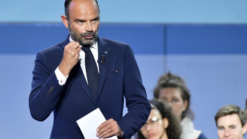 Le Premier ministre Edouard Philippe au Campus des territoires de LREM, le 8 septembre 2019 à Bordeaux