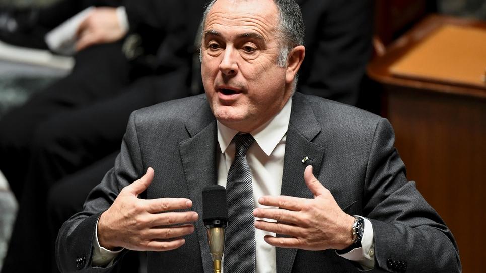 Le ministre de l'agriculture, Didier Guillaume, à l'Assemblée nationale, le 12 décembre 2018