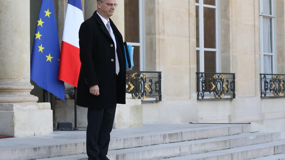 Jean-Michel Blanquer le 14 mars 2018 à l'Elysée