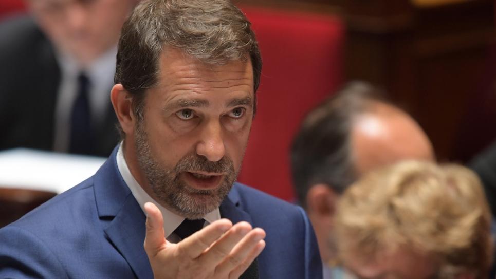 Christophe Castaner à l'Assemblée nationale à Paris, le 18 juin 2019