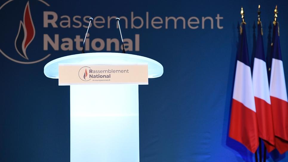 Le Rassemblement national arrive en tête des élections européennes