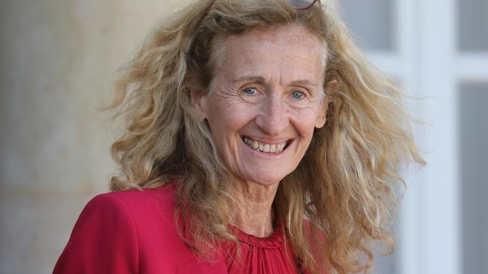 Nicole Belloubet à l'Elysée, le 11 septembre 2019 à Paris