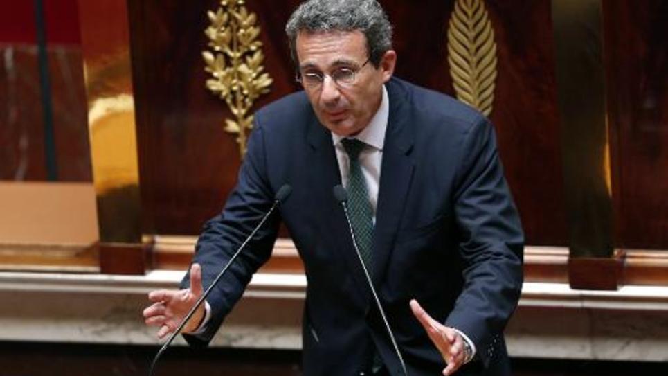 Le député UDI Jean-Christophe Fromantin à l'Assemblée nationale à Paris le 17 juillet 2014