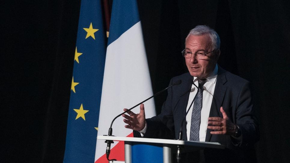 Jean Léonetti au meeting LR de Belfort le 19 septembre 2019