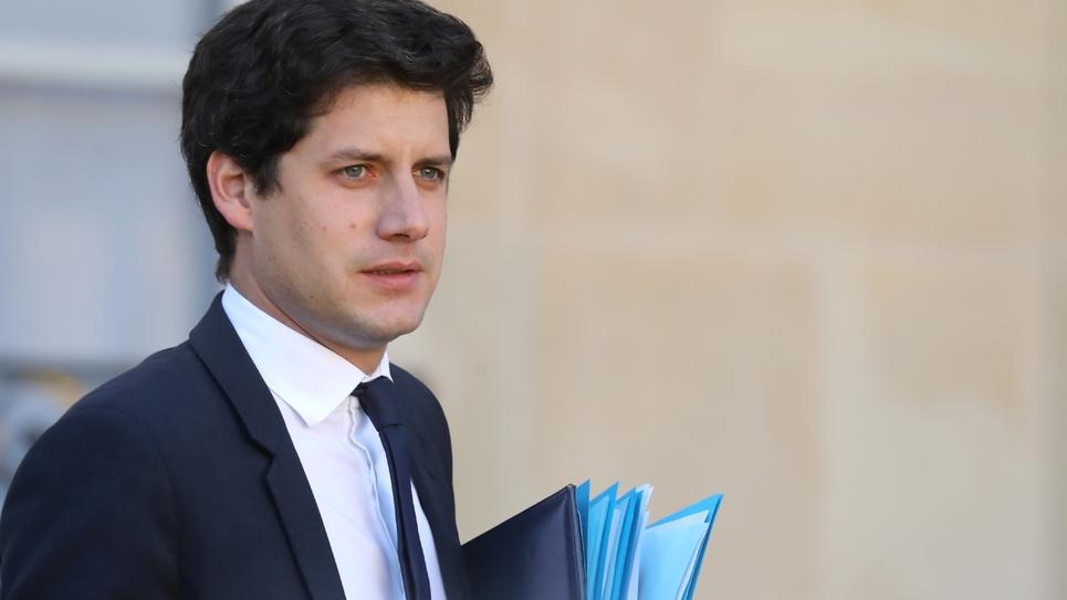 Le ministre du Logement Julien Denormandie, le 14 novembre 2018 à Paris