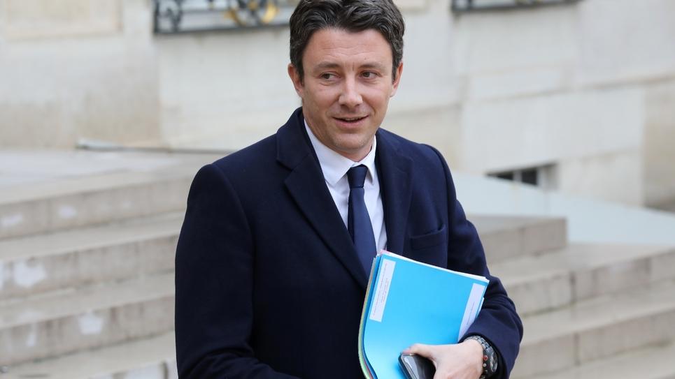 Benjamin Griveaux, porte-parole du gouvernement, le 30 octobre 2018 à l'Elysée