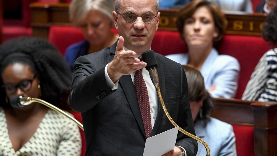 Le ministre de l'Education Nationale Jean-Michel Blanquer le 2 juillet 2019 à l'Assemblée Nationale