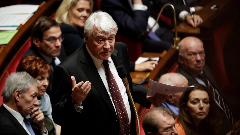 Claude Goasguen à l'Assemblée nationale le 11 décembre 2018