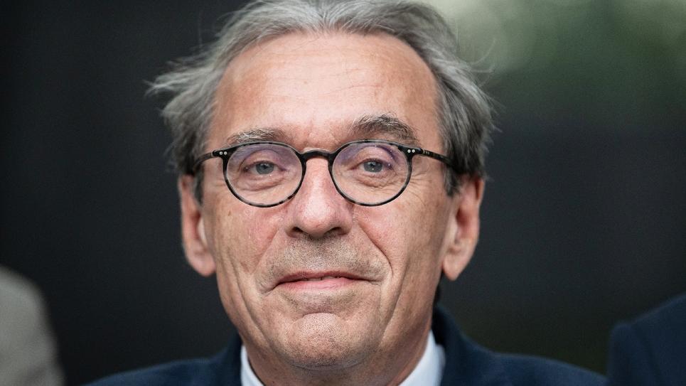 Le maire de Strasbourg Roland Ries le 1er octobre 2019 à Strasbourg