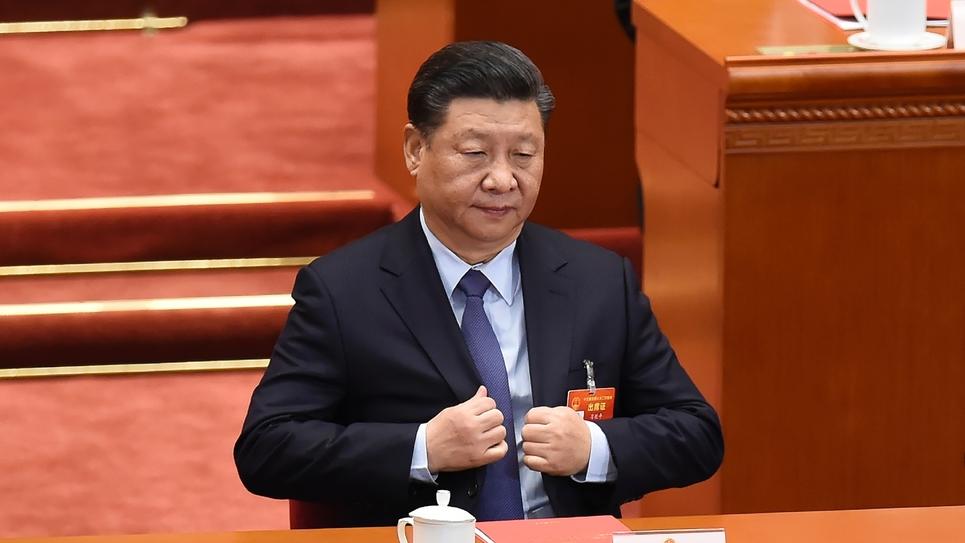 Le président chinois Xi Jinping à Pékin le 15 mars 2019