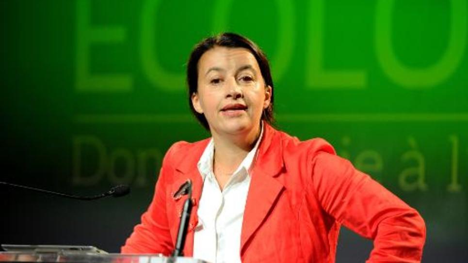 Cécile Duflot le 19 mai 2014 à Grenoble
