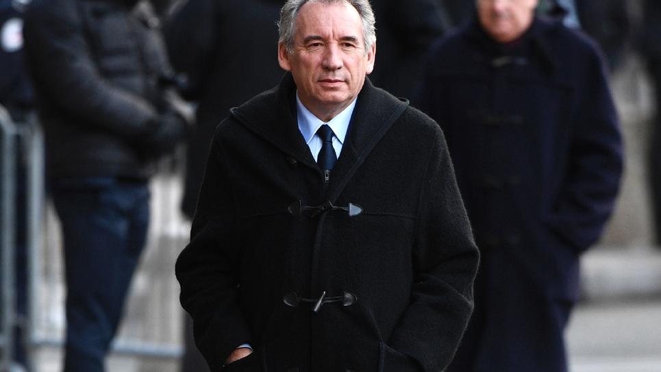François Bayrou le 2 janvier 2017 à Paris