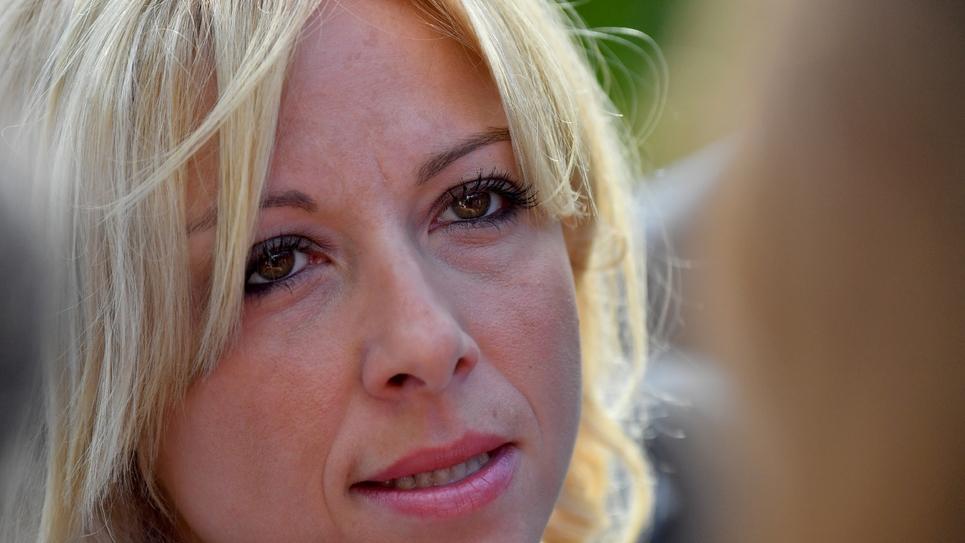 Florence Portelli, candidate à la présidence du parti Les Républicains, le 2 septembre 2017 à La Baule