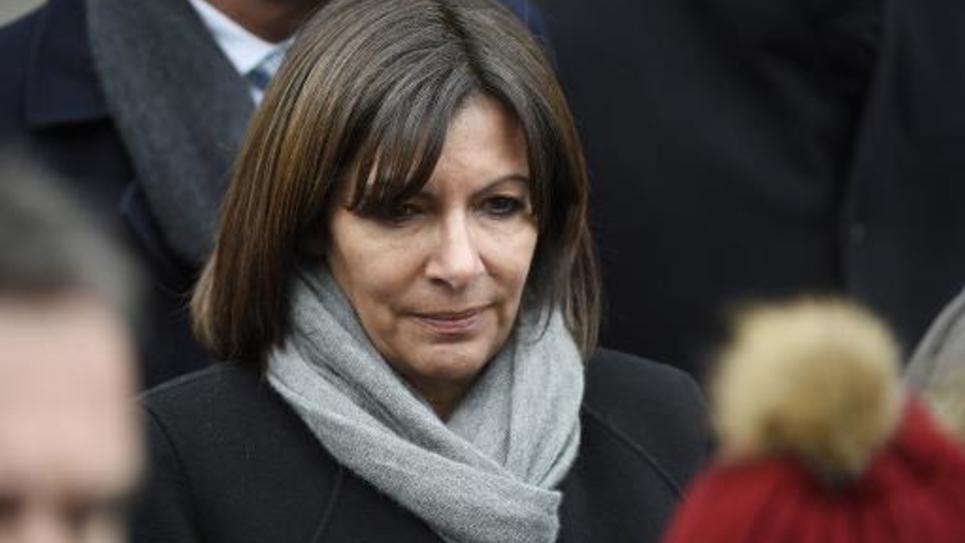 La maire de Paris Anne Hidalgo (PS) à Paris le 6 janvier 2015