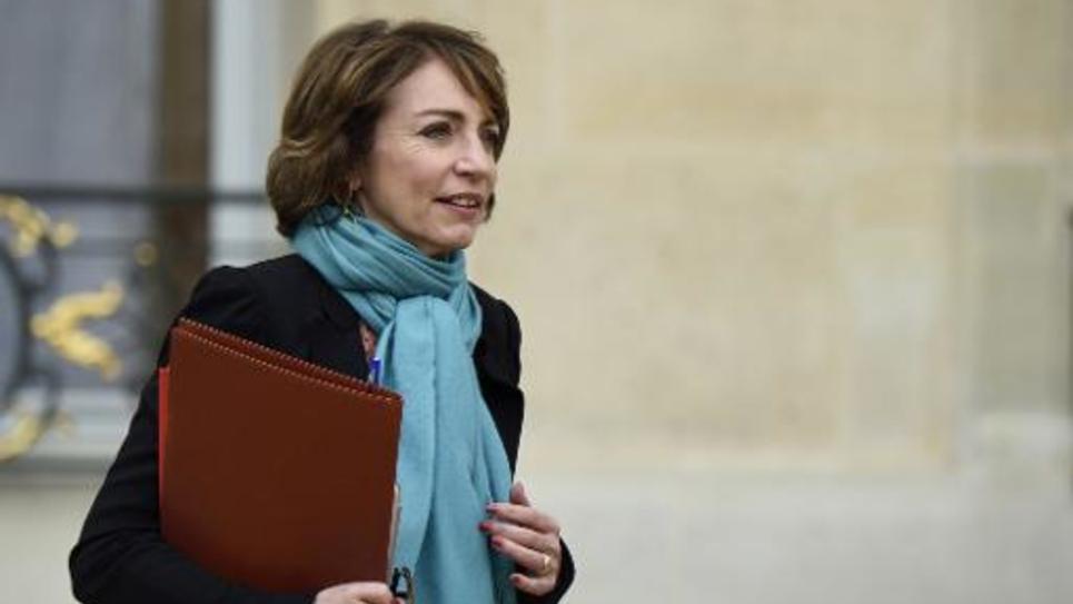La ministre des Affaires sociales Marisol Touraine à l'Elysée, le 4 mars 2015