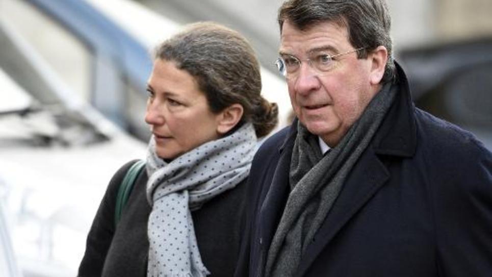 L'ancien ministre de l'Education nationale, Xavier Darcos, le 6 janvier 2015 à Paris