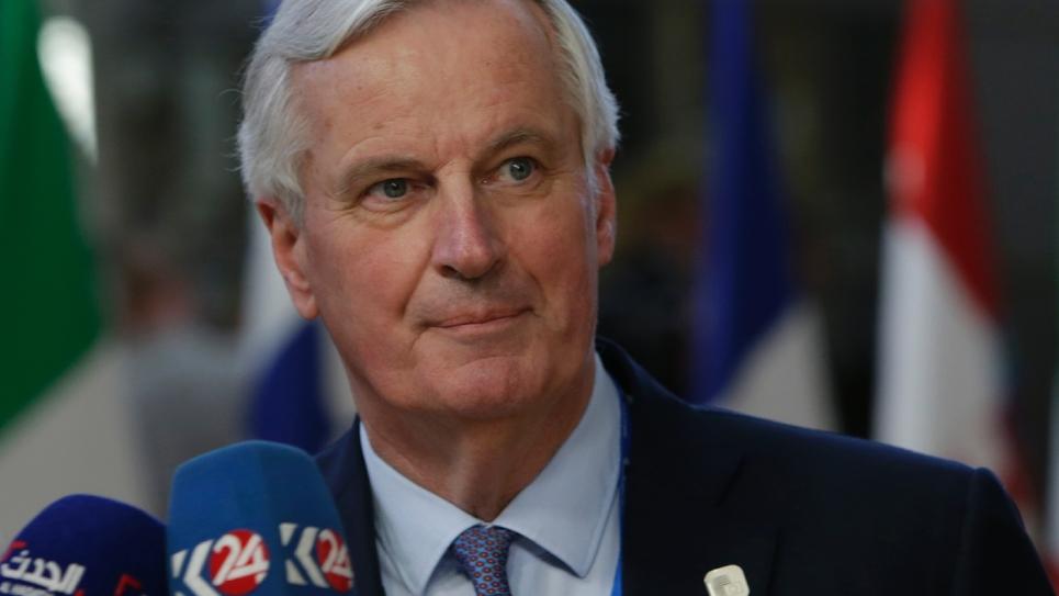 Le négociateur en chef de l'UE pour le Brexit Michel Barnier, le 10 avril 2019 à Bruxelles