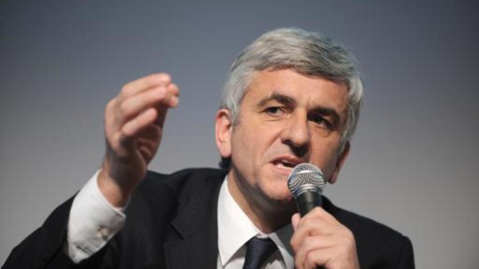 Hervé Morin le 20 janvier 2012 à Nantes
