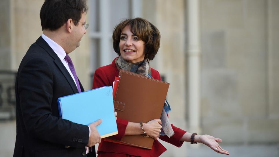 La ministre de la Santé Marisol Touraine, le 7 décembre 2016 à l'Elysée