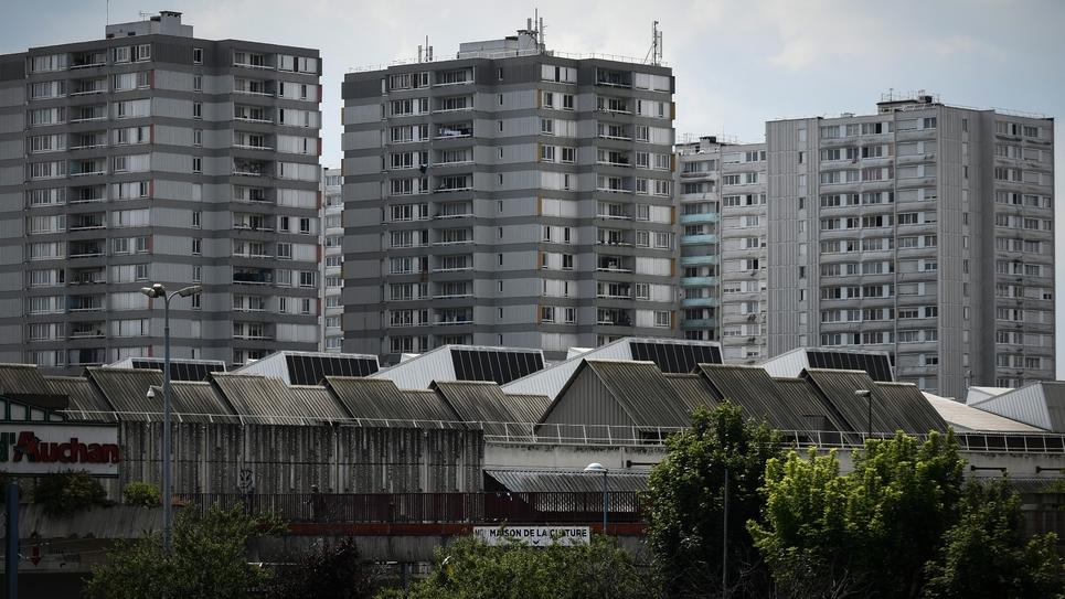 Des immeubles à Bobigny, le 21 mai 2018 en Seine-Saint-Denis, dans la banlieue parisienne