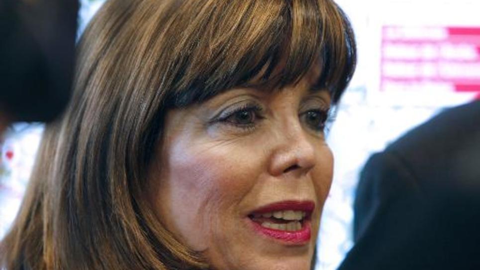 Le maire UMP, Joëlle Ceccaldi-Raynaud, le 4 décembre 2009 à La Défense