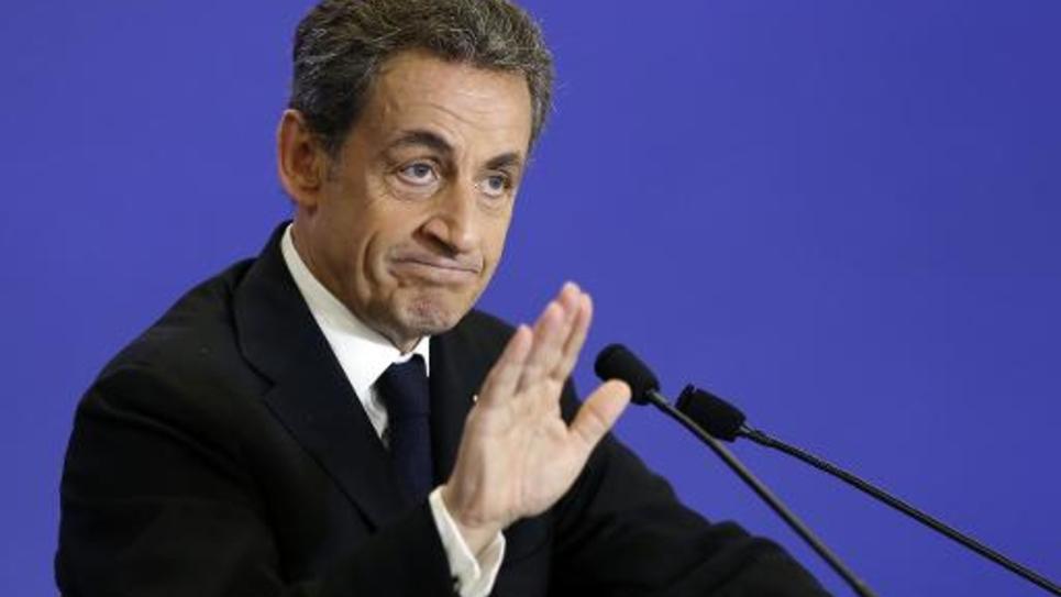 Le président de l'UMP, Nicolas Sarkozy, le 7 mars 2015, à Paris