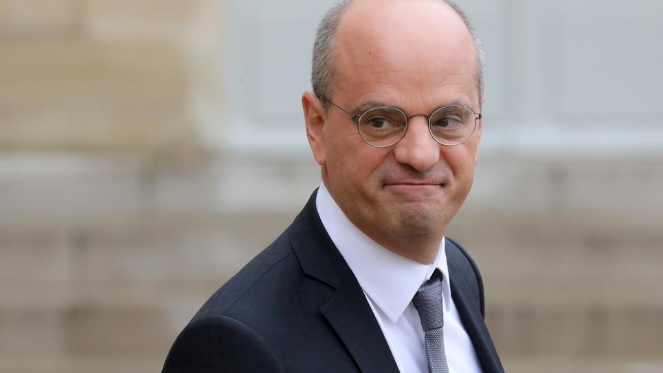 Le ministre de l'Education Jean-Michel Blanquer, à Paris le 30 octobre 2018