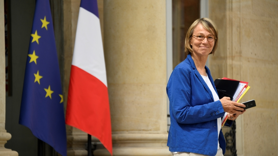 Françoise Nyssen le 11 juillet 2018 au Palais de l'Elysée à Paris