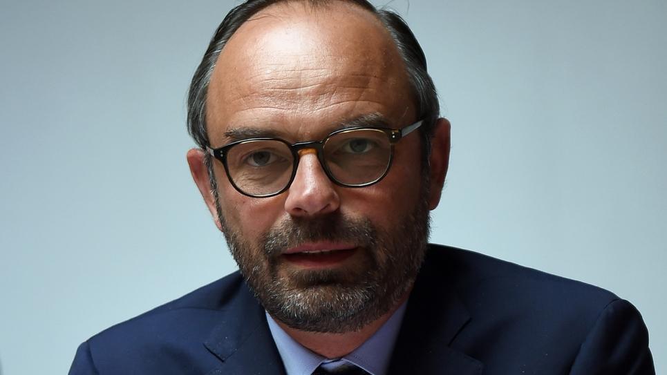 Le Premier ministre Edouard Philippe à Sancoins, près de Bourges, le 2 mai 2018