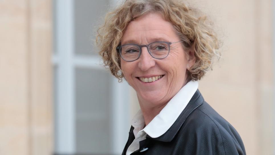 La ministre du Travail Muriel Pénicaud, le 21 février 2019 à l'Elysée, à Paris