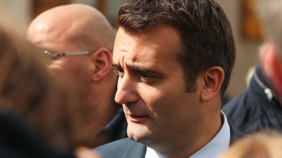 Florian Philipot (AFP - 9 septembre 2017)